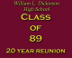 Class of '89 Class of 89.... The 20 Year Wait!!!!