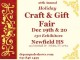 Class of '00 Holiday Craft Fair