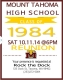 "Mt. Tahoma High School - Mt.Tahoma High School ""84"" 30 Year Class Reunion"