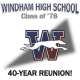 Class of '78 Windham High School Calss of '78 40th Reunion