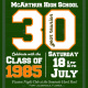 Class of '85 McArthur High School Class of 1985 30th Reunion