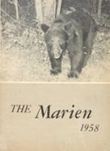 View East Forest High School 1958 Yearbook