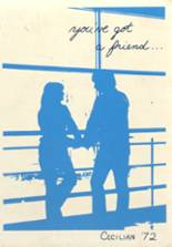 View St. Cecilia High School 1972 Yearbook