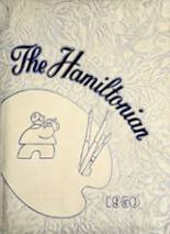 View Hamilton Township High School 1950 Yearbook