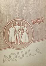 View Youngsville High School 1954 Yearbook
