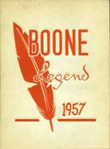 View Boone High School 1957 Yearbook