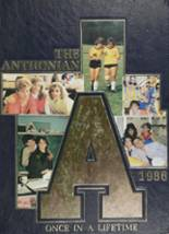 View St. Anthony's High School 1986 Yearbook