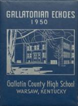 View Gallatin County High School 1950 Yearbook