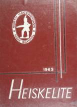 View North Hagerstown High School 1963 Yearbook