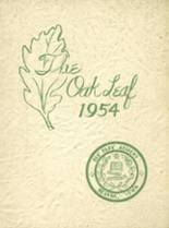 View Oak Park Academy 1954 Yearbook