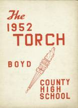 View Boyd County High School 1952 Yearbook