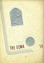 View Our Lady of Wisdom Academy 1959 Yearbook