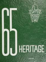 View George Washington High School 1965 Yearbook
