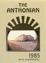 View St. Anthony's High School 1985 Yearbook