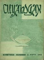 View Cuyahoga Falls High School 1951 Yearbook