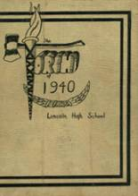 View Lincoln High School 1940 Yearbook