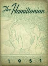 View Hamilton Township High School 1951 Yearbook
