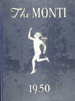 View Monticello High School 1950 Yearbook