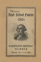 View Seymour High School 1899 Yearbook