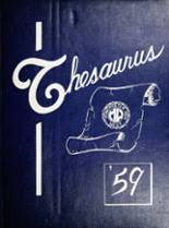 View West High School 1959 Yearbook