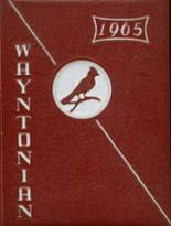 View Wayne County High School 1965 Yearbook