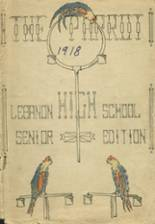 View Lebanon High School 1918 Yearbook