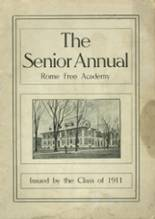 View Rome Free Academy 1911 Yearbook